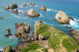 Nugget Point in New Zealand