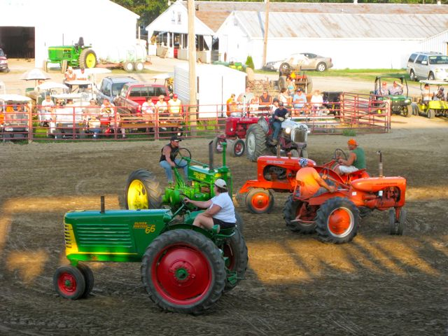 Swing yer partner round 'n round! at an Ohio Tractor Square Dance