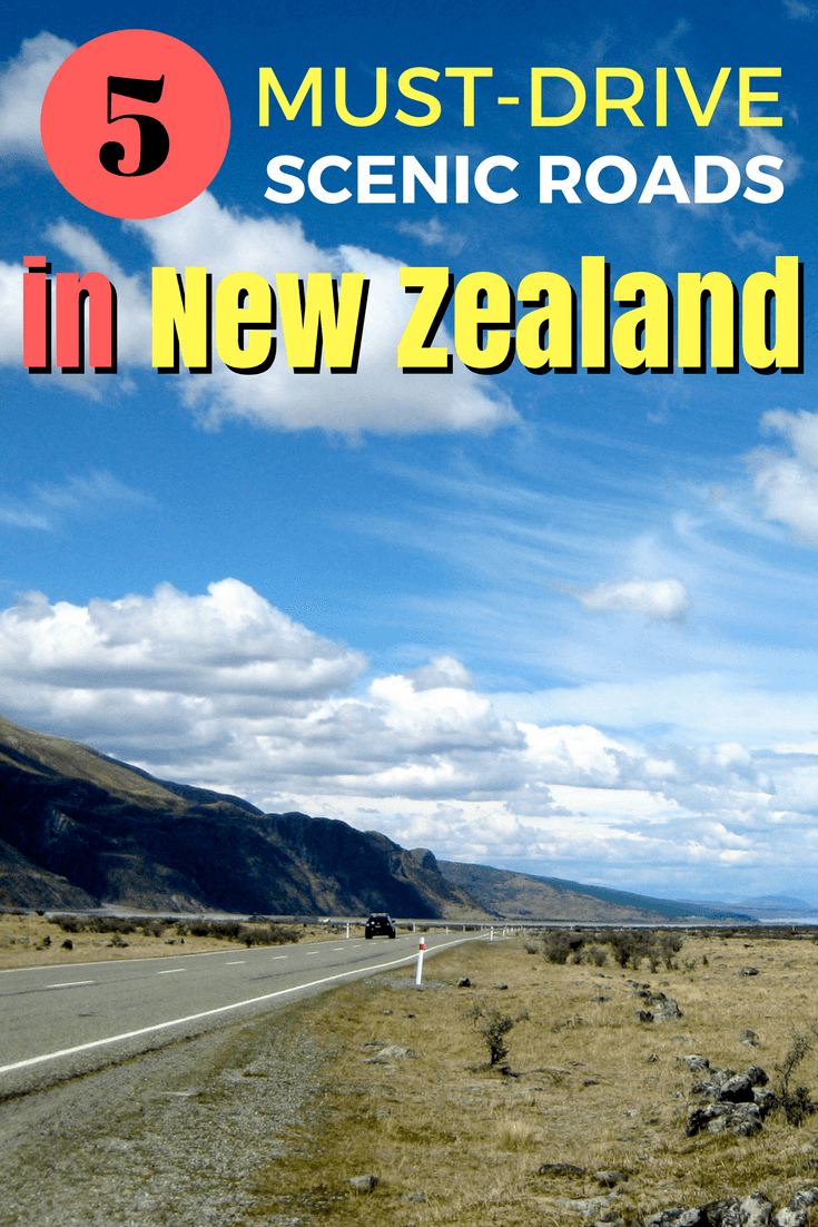 Scenic drives off the beaten path in New Zealand
