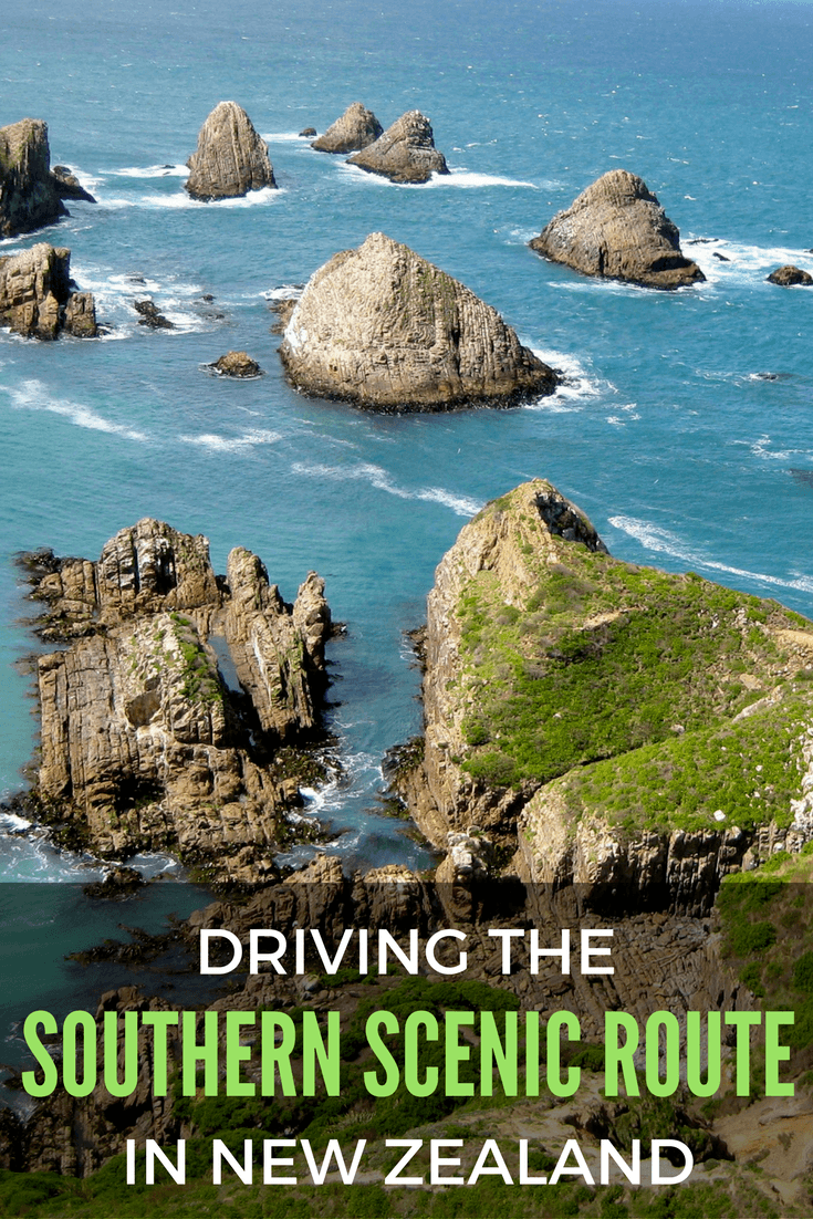 Driving the Southern Scenic Route in New Zealand
