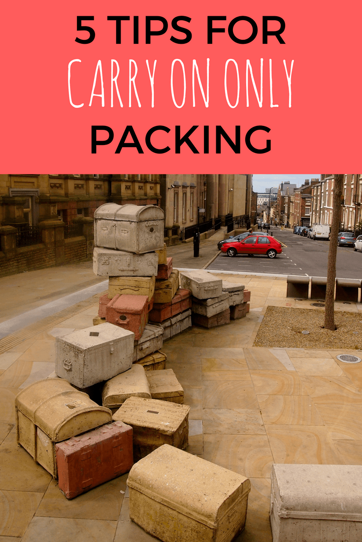 Tips for packing carry on only