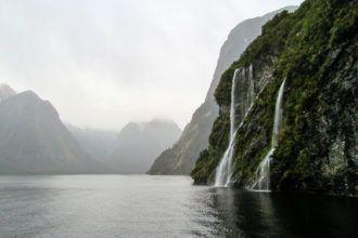Doubtful Sound in New Zealand