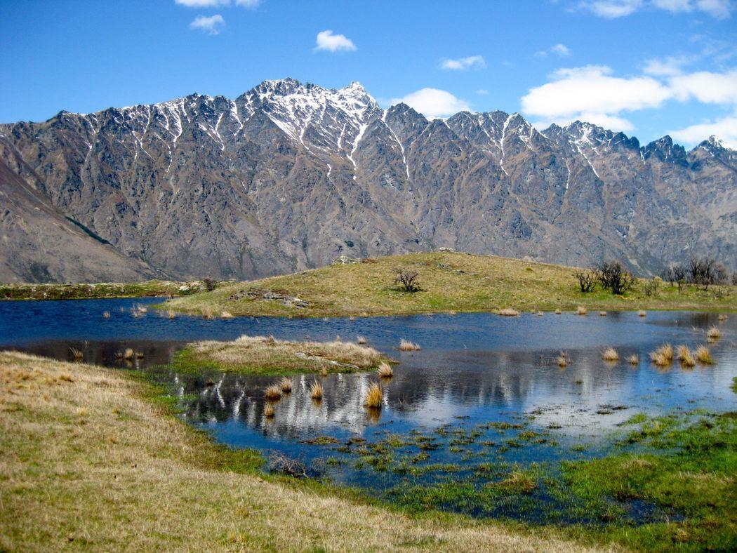 Remarkables Mountains in Queenstown, NZ