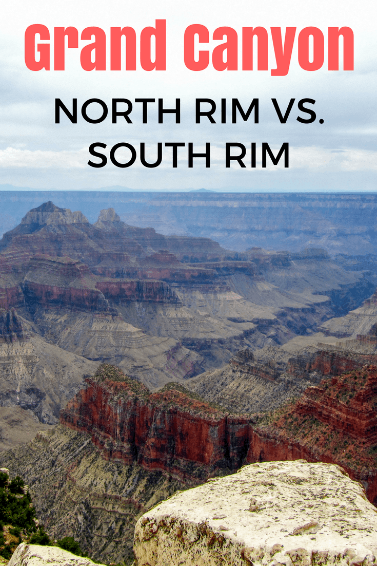 Grand Canyon North Rim vs South Rim