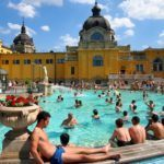 Soaking at the Szechenyi Baths