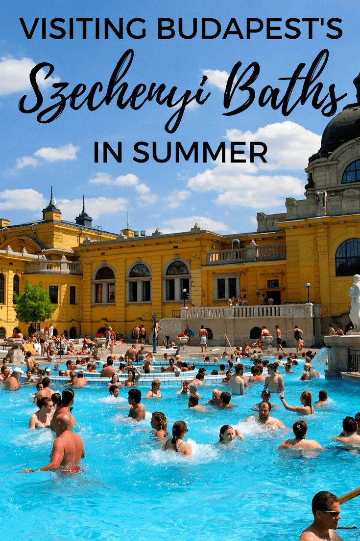 Visiting the Szechenyi Baths in Budapest