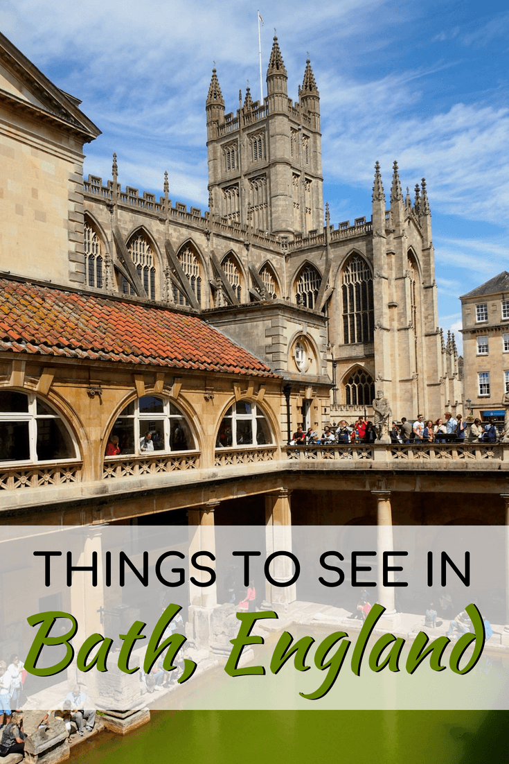 Top things to see in Bath, England