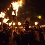 The Hogmanay Torchlight Procession