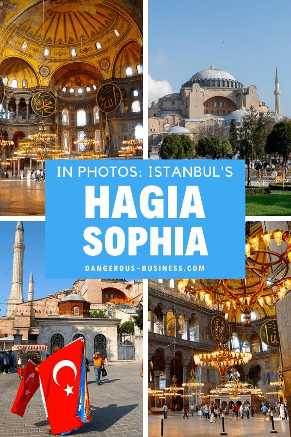 Istanbul's Hagia Sophia in photos