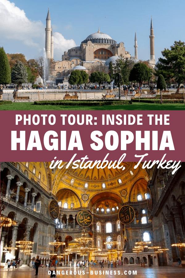 Photo tour of the Hagia Sophia in Istanbul