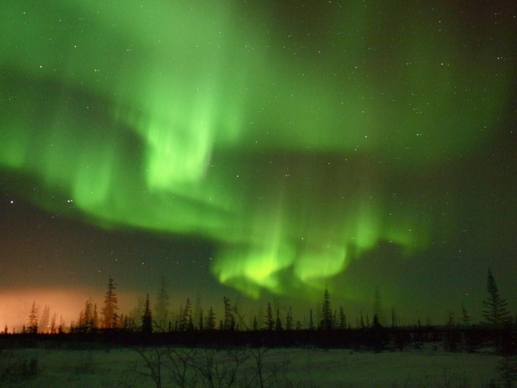 Northern Lights in Manitoba