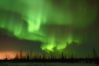 Northern Lights in Manitoba