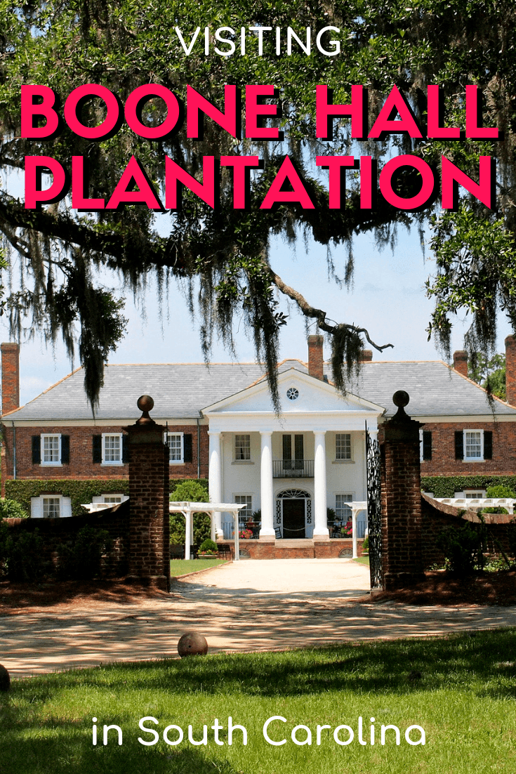 Visiting Boone Hall Plantation