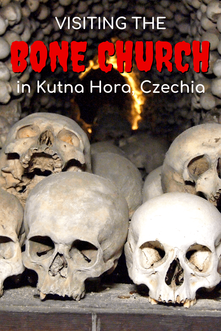 Visiting the Sedlec Ossuary (Bone Church) in Kutna Hora, Czechia