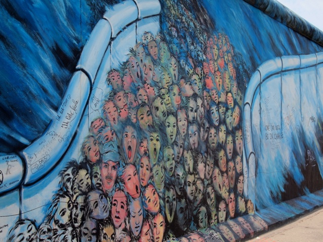 East Side Gallery at the Berlin Wall