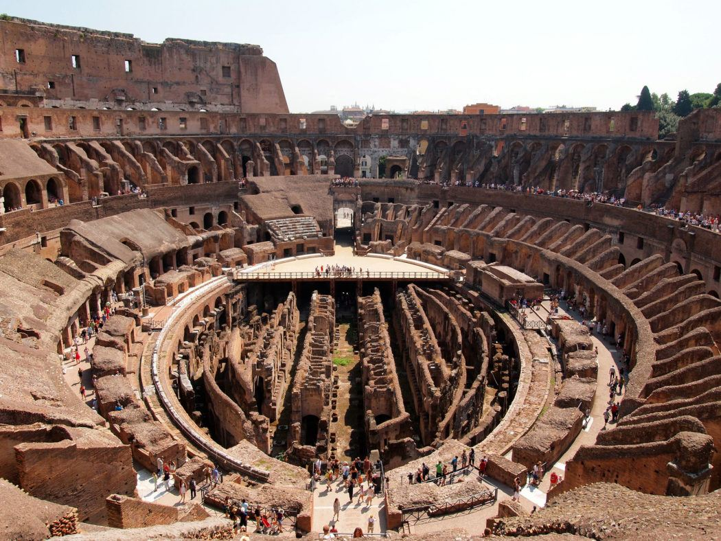 Touring the Roman Colosseum