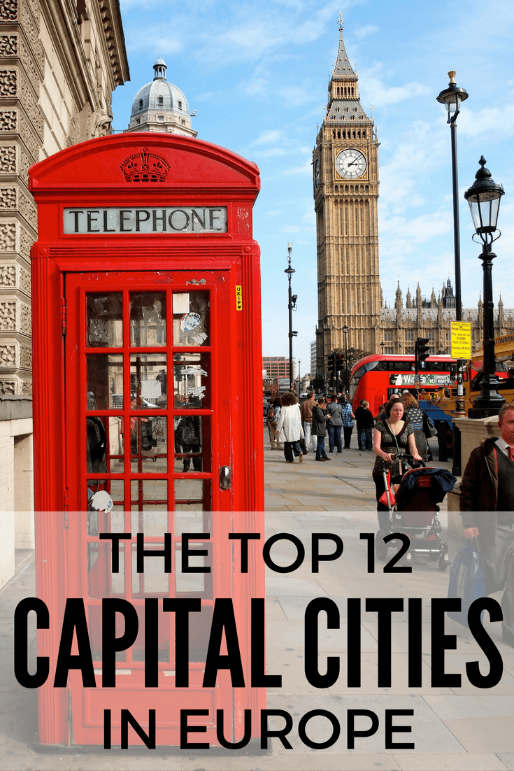 Best capital cities in Europe