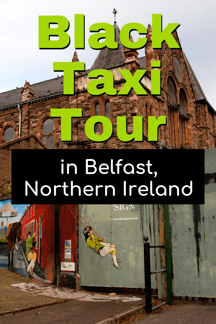 Black Taxi tour in Belfast