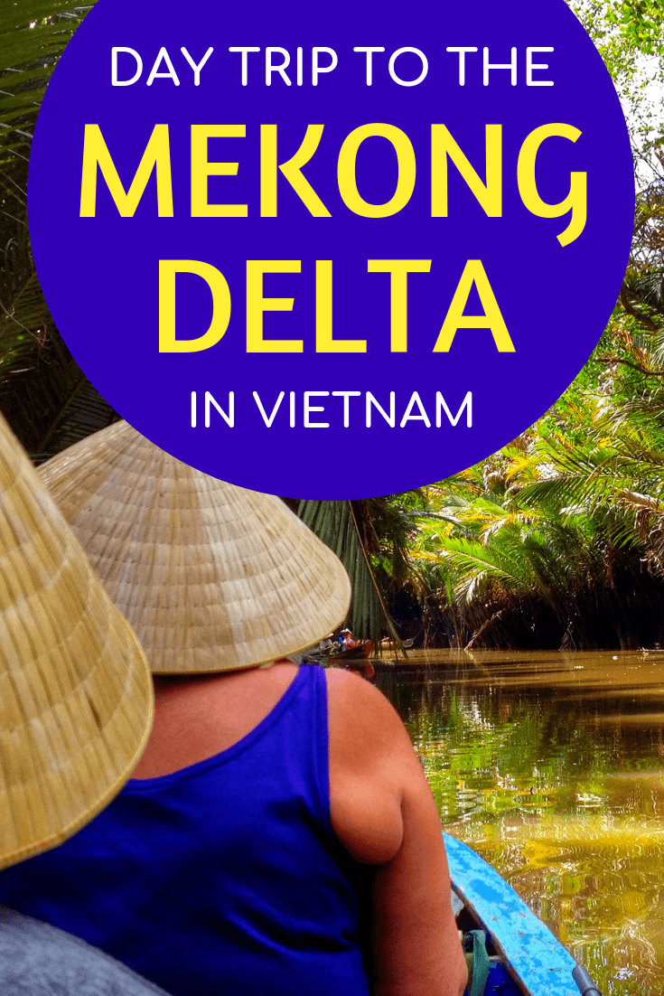 Taking a day trip to the Mekong Delta in Vietnam