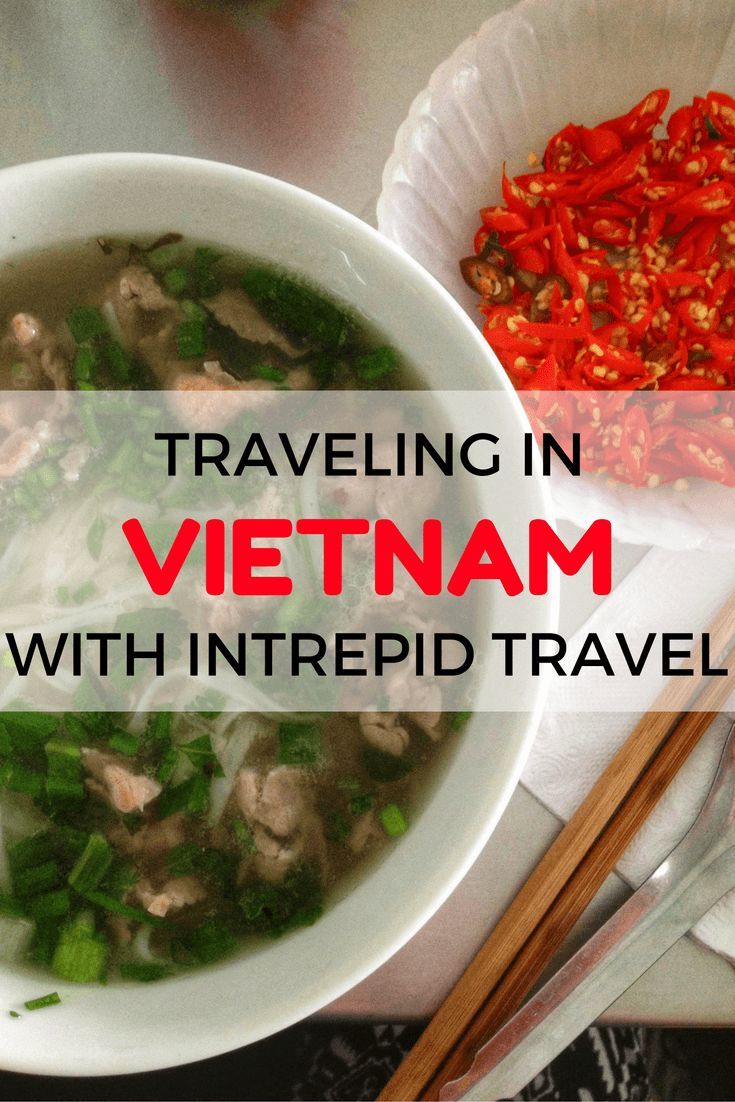 Traveling in Vietnam with Intrepid Travel
