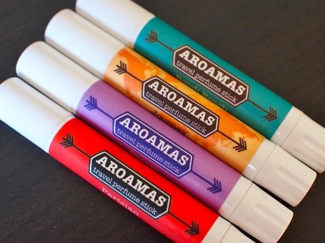 Aroamas solid perfume sticks