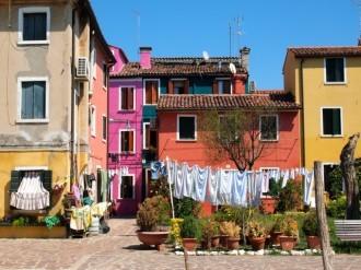 Italian life in Burano