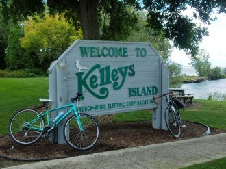 Biking the Lake Erie Islands