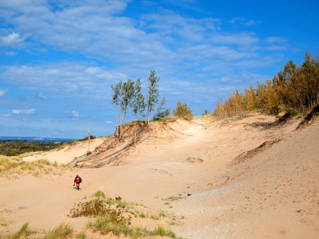 Conquering the Sleeping Bear Dunes