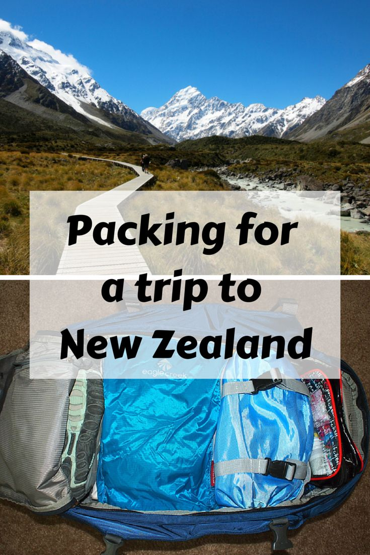 Packing for New Zealand