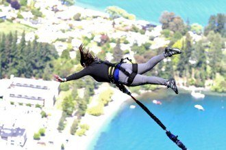 The Ledge Bungee in Queenstown