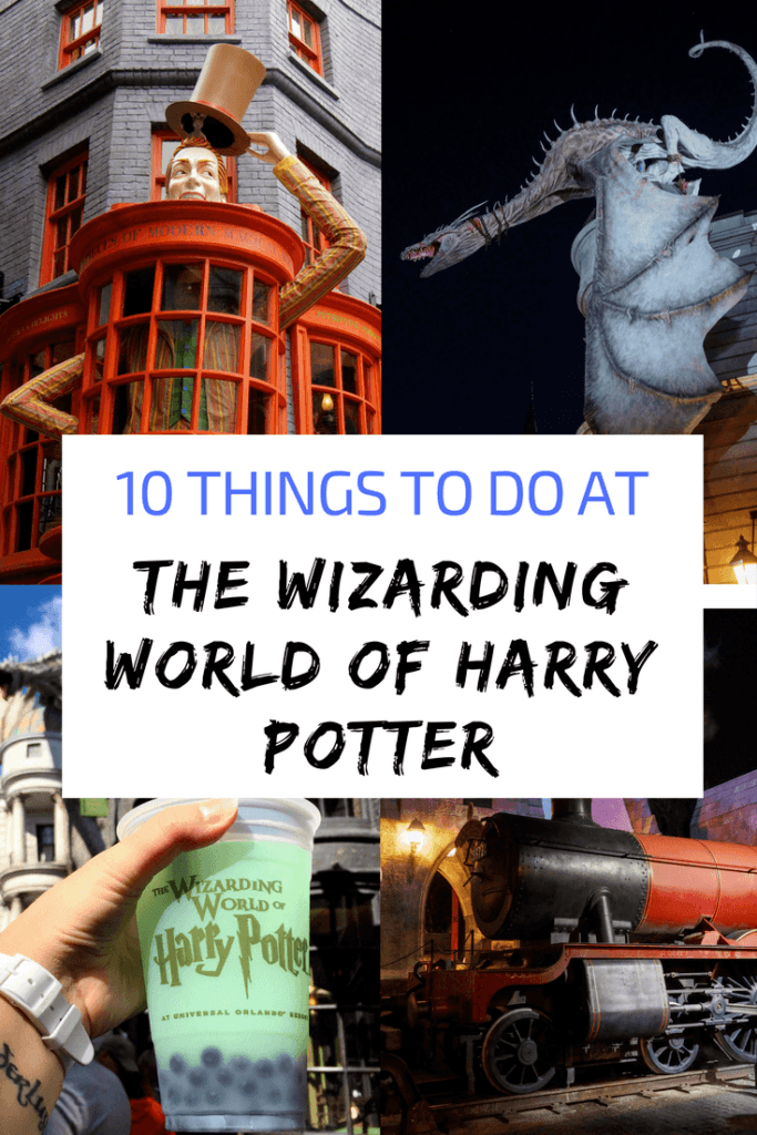 10 things to do at the Wizarding World of Harry Potter in Orlando