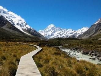 Hooker Valley Track at Mount Cook