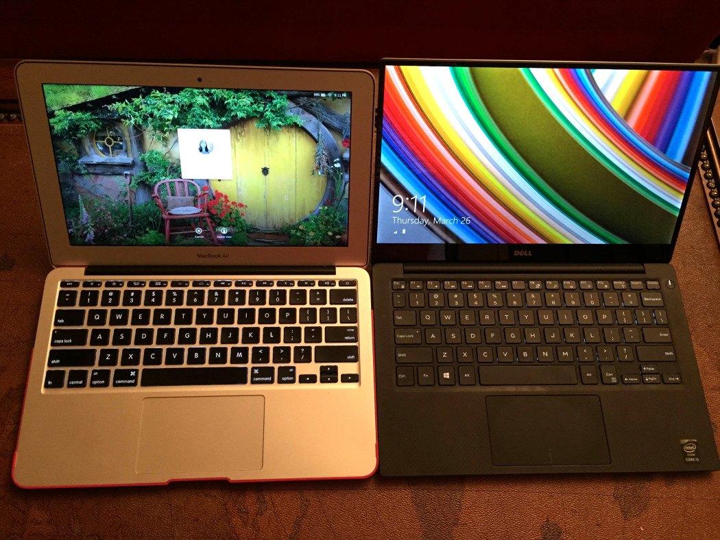 MacBook Air 11 vs Dell XPS 13