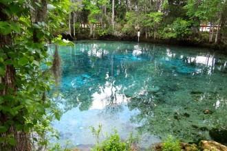 Three Sisters Springs in Crystal River, Florida