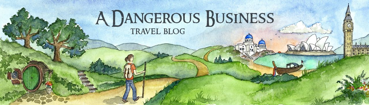 A Dangerous Business Travel Blog - A small-town Ohio girl trying to see the world.