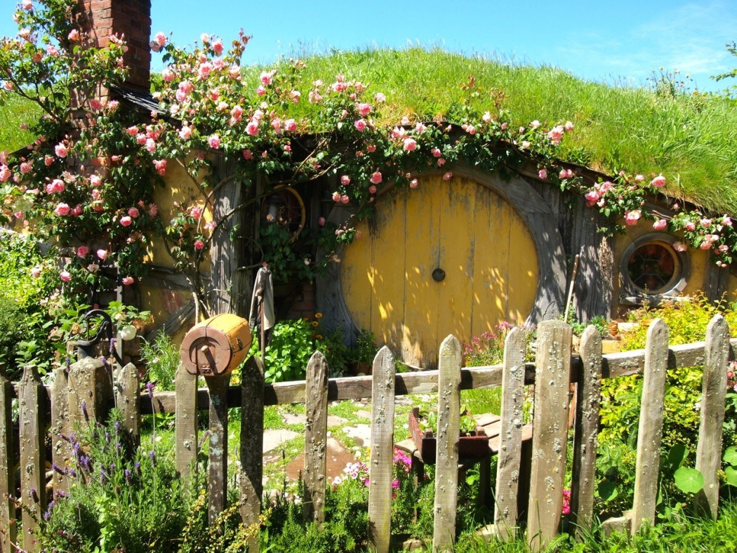 Hobbiton in New Zealand