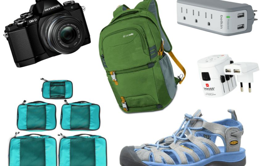 My Favorite Travel Gear Right Now: 2015