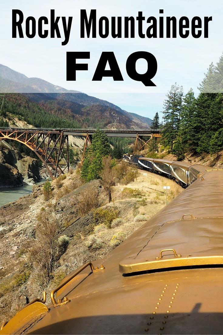 Rocky Mountaineer FAQ