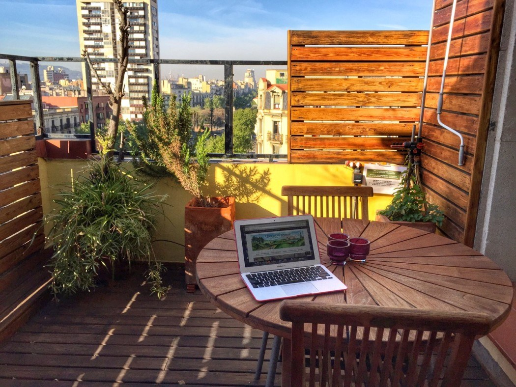 Working remotely in Barcelona