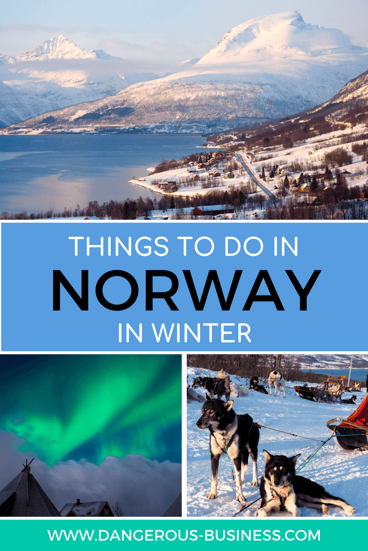 Things to do in Northern Norway in winter
