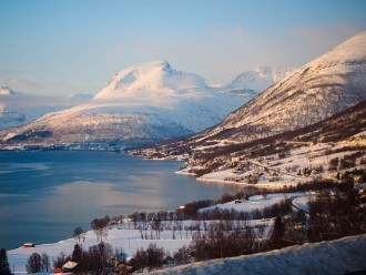 Northern Norway in winter