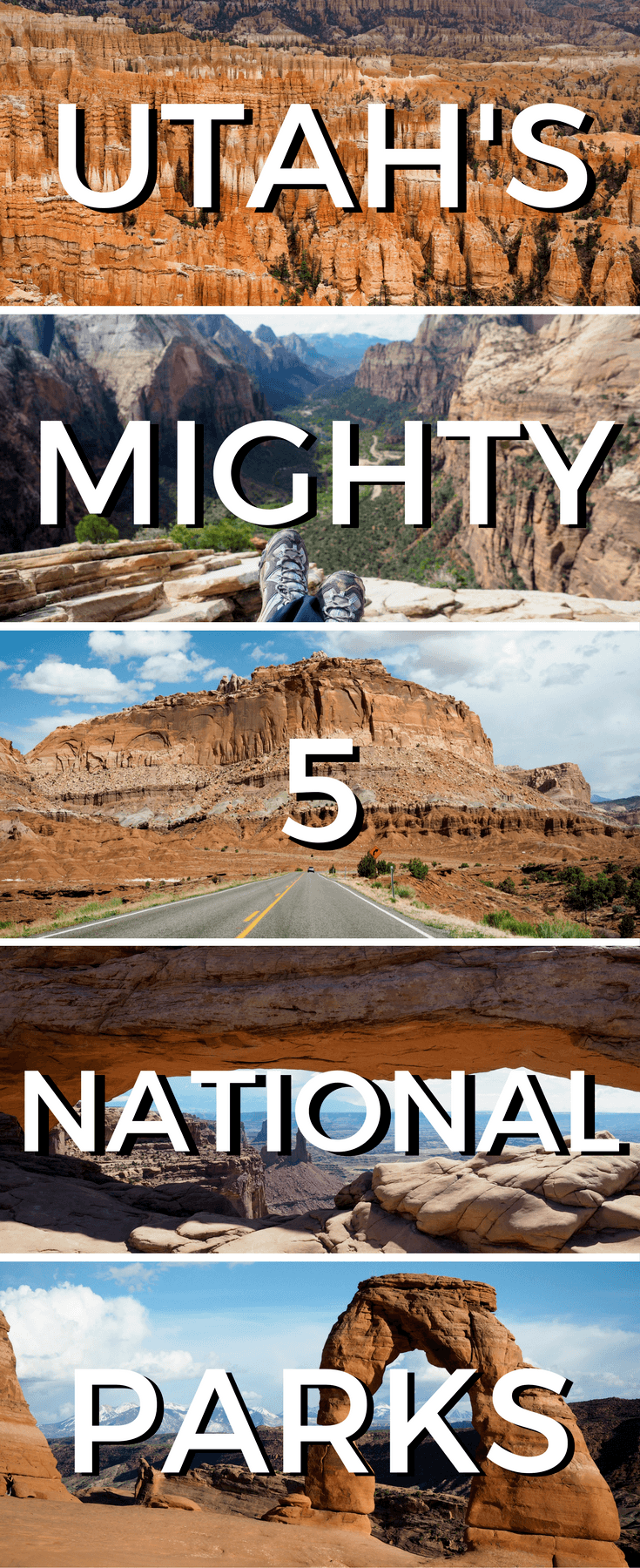 the mighty 5: a travel guide to utah's national parks