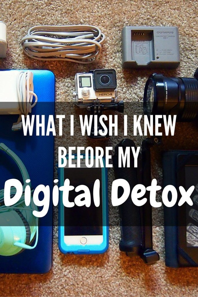 Things to know before going on a digital detox