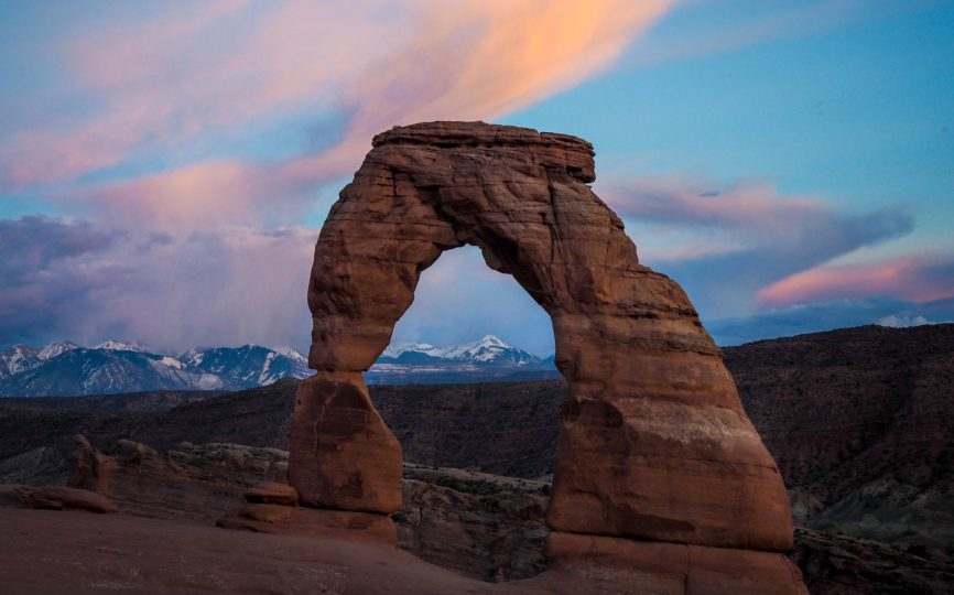 Iconic Utah: A Sunset at Delicate Arch