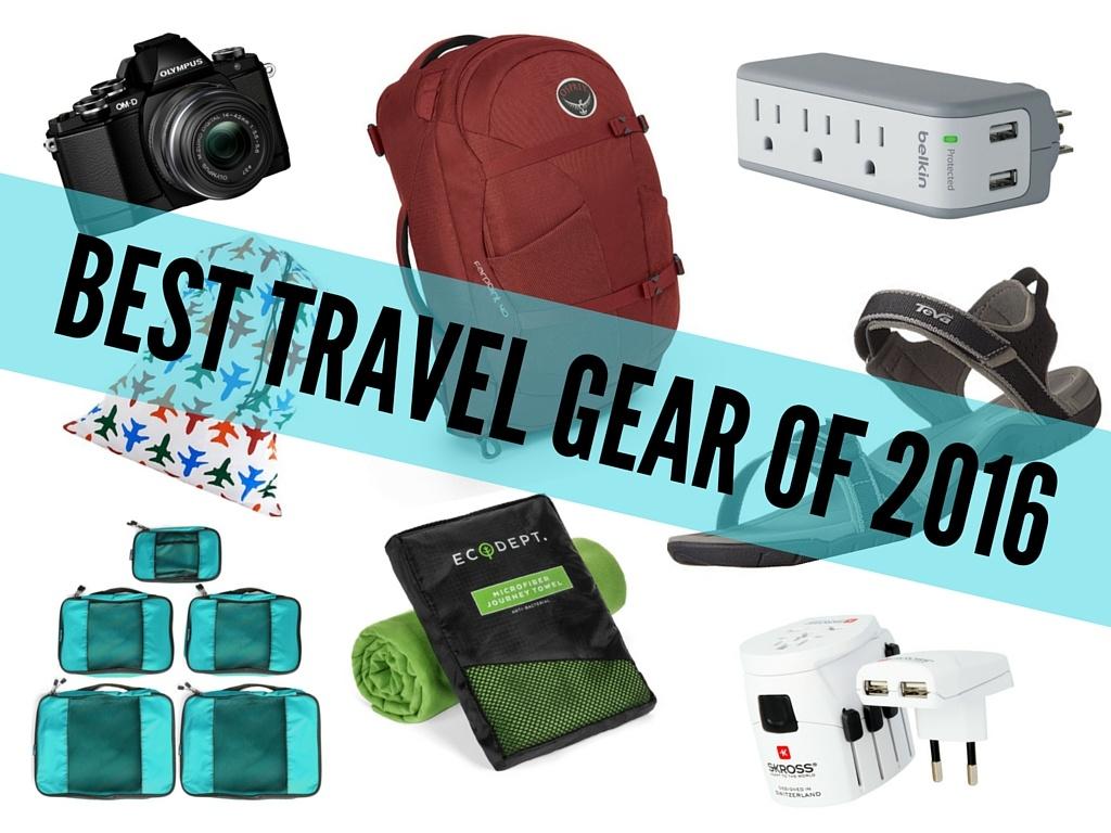 Best Travel Gear of 2016