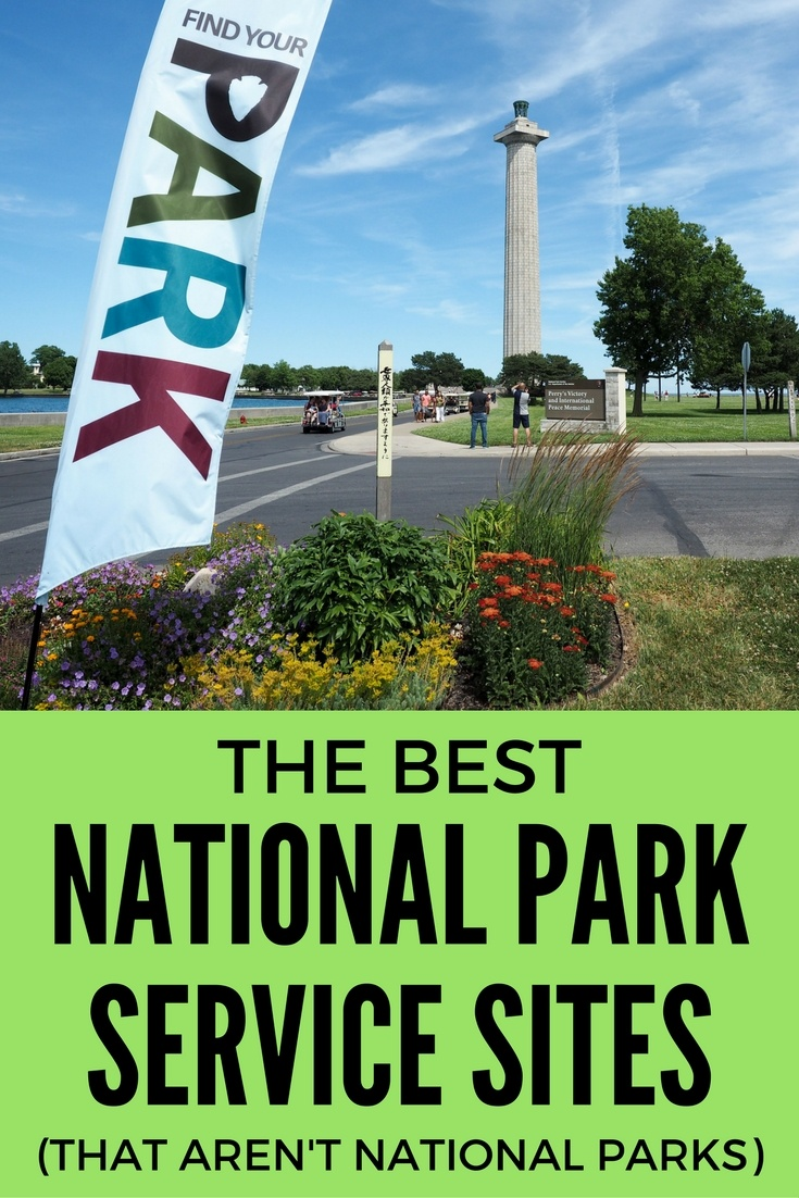 The best National Park Service sites