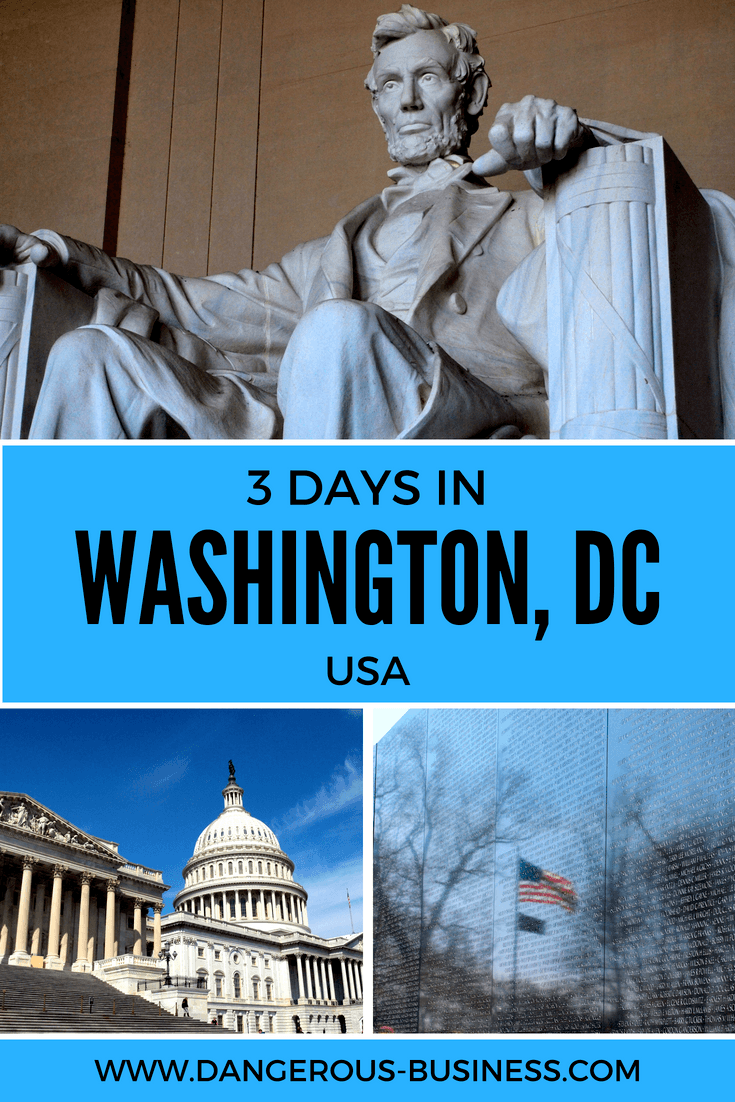 Things to do with 3 days in Washington, DC