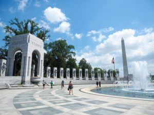 WWII Memorial in Washington, DC