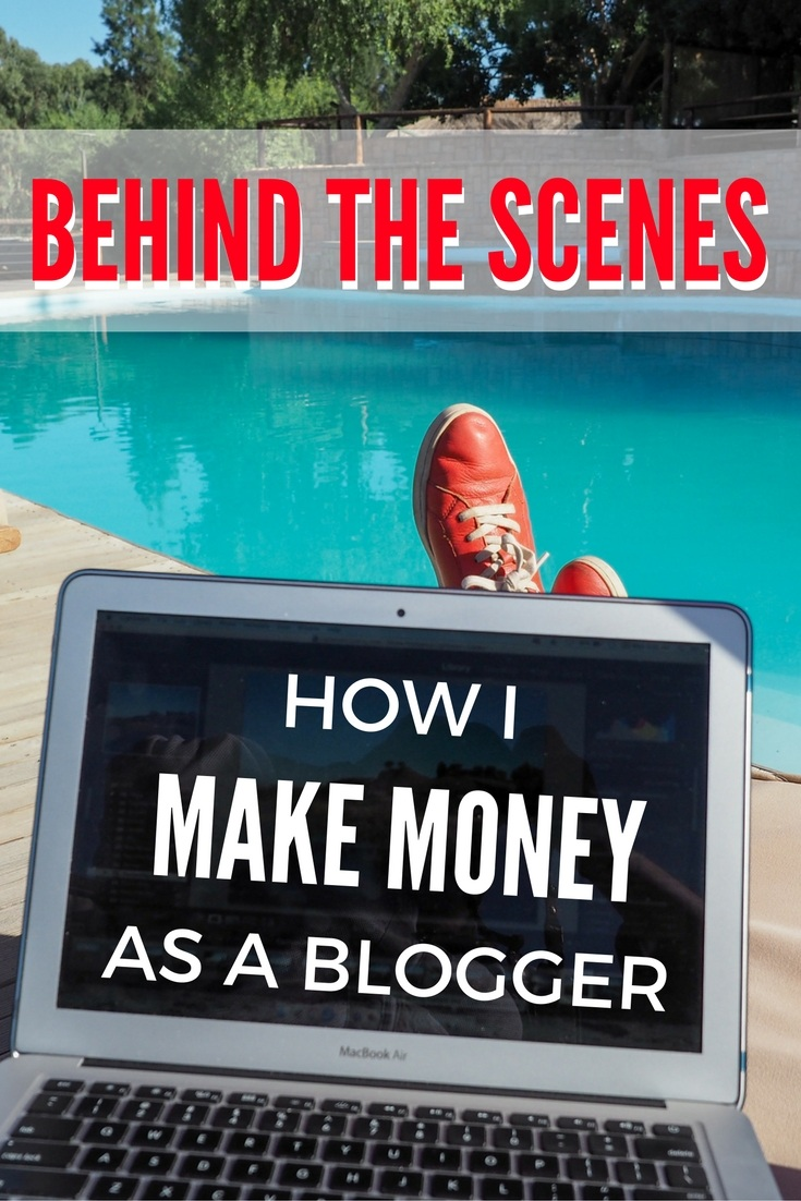 How I make money as a blogger