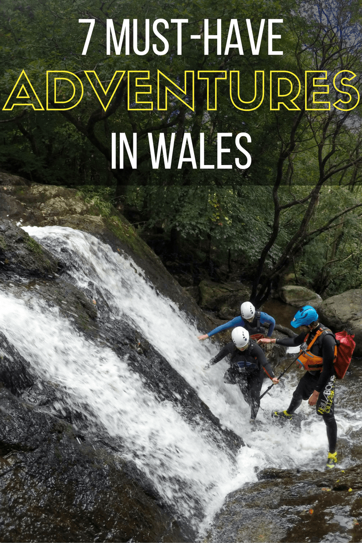 Adventures to have in Wales